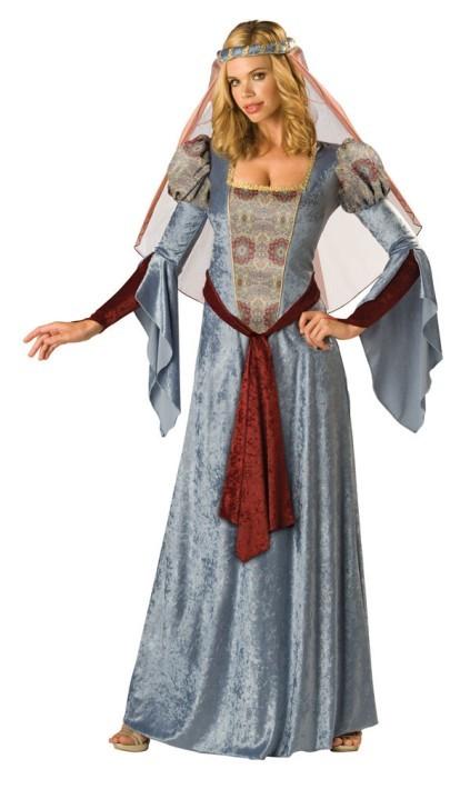 Super deluxe scarlet renaissance costume