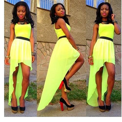 Зеленые платья со шлейфом